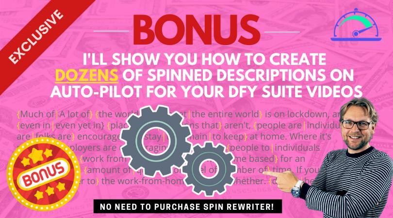 Bonus 2 spinner