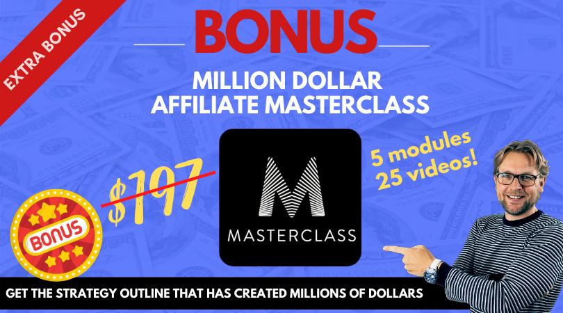 Million dollar masterclass