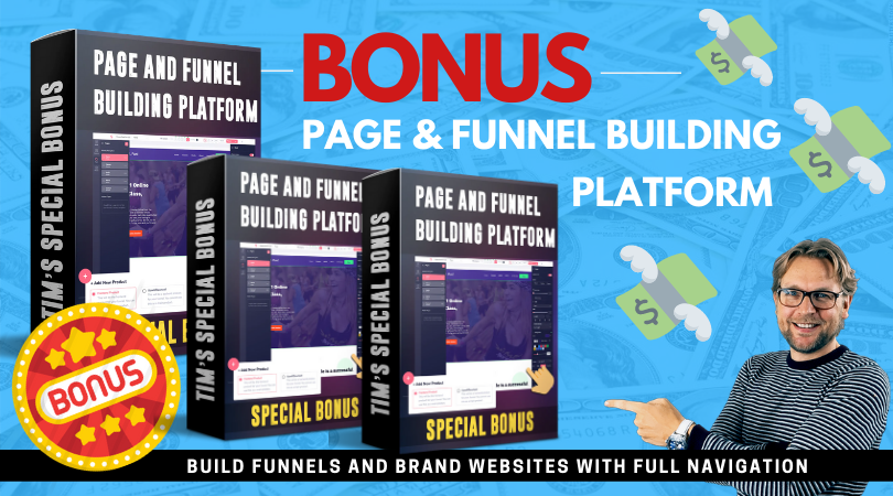 Page and funnel builder
