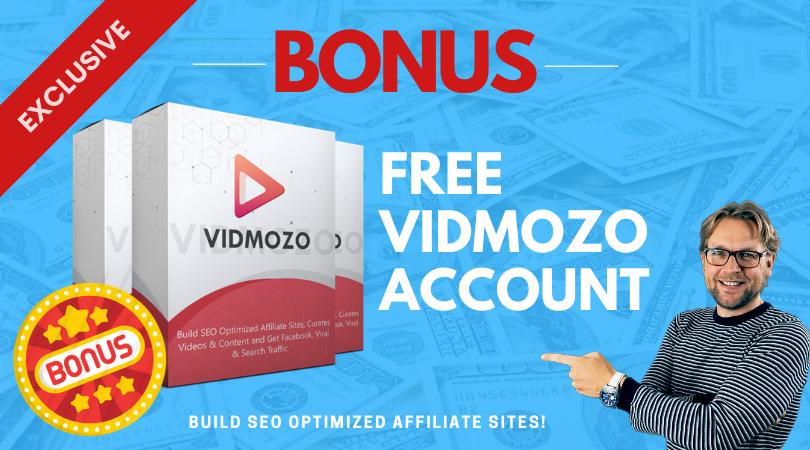 Bonus - Vidmozo account